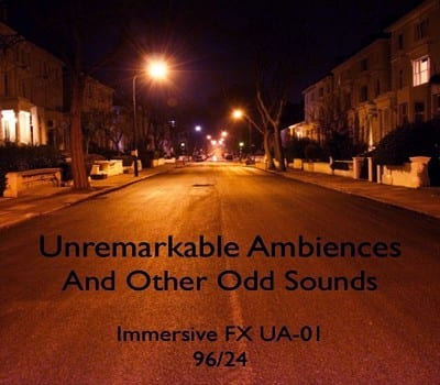 unremarkable-ambiences-album