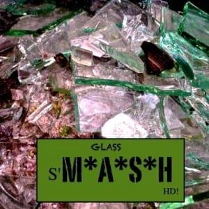 Glass Smash - Square