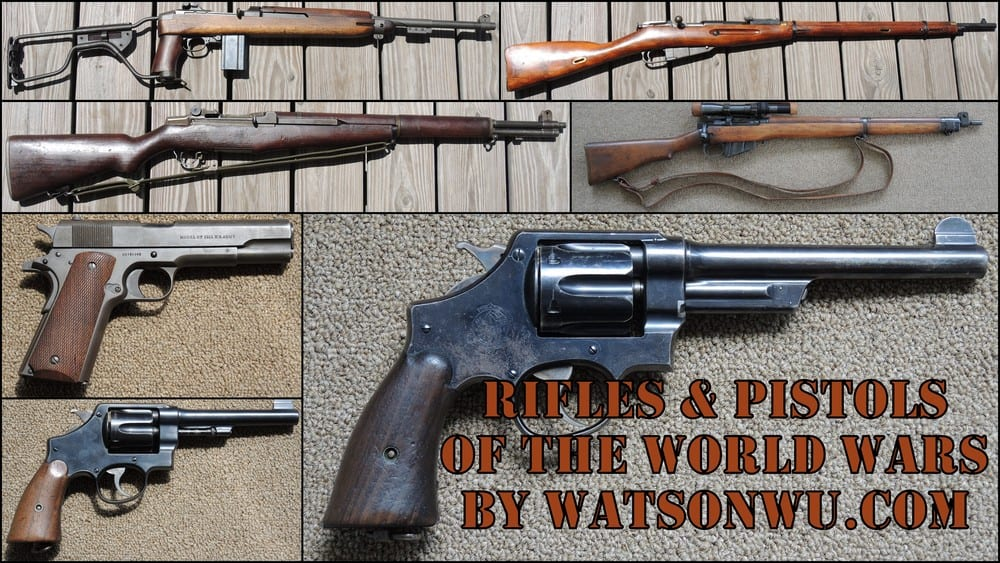 Rifles+&+Pistols+of+the+World+Wars