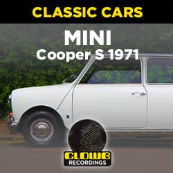 MINI COOPER S 1971 1275cc Twin Carb - Sound Effects