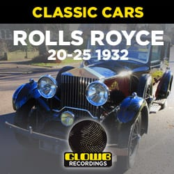 ROLLS ROYCE 1932 20/25 STRAIGHT 6 - SOUND EFFECTS