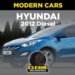 HYUNDAI 2012 DIESEL - SOUND EFFECTS