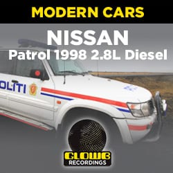 NISSAN PATROL 1998 2.8L DIESEL 4X4 - SOUND EFFECTS