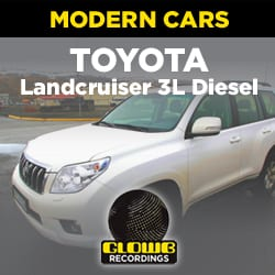 TOYOTA LAND CRUISER 3L DIESEL 4X4 - SOUND EFFECTS