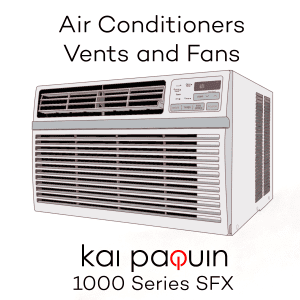 Air Conditioners Vents and Fans