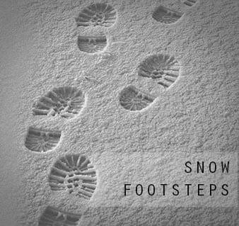snow-foosteps