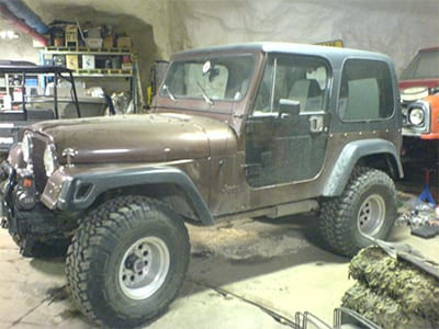 Jeep Chevrolet CJ-7 Sound Library