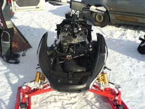 Snowmobile Snow Library