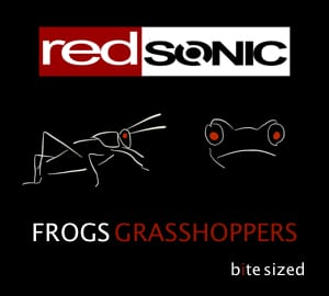 frogs grasshoppers