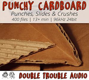 Punchy Cardboard soniss