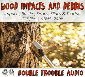Wood Impacts soniss