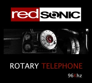 analogue rotary telephone