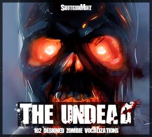 ShotgunMike - The Undead - Cover Artwork