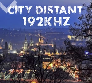 City Distant 192 kHz cover